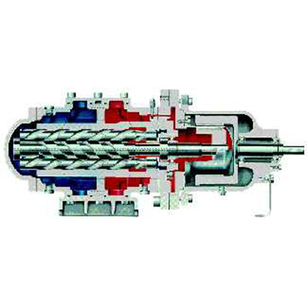 трехвинтовой насос Allweiler серии SN-M (B)