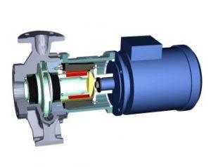 центробежный герметичный насос Allweiler серии CMA