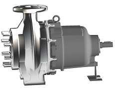 центробежный герметичный насос Allweiler серии CMAL