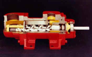 трехвинтовые насосы Allweiler IMO серии 3D