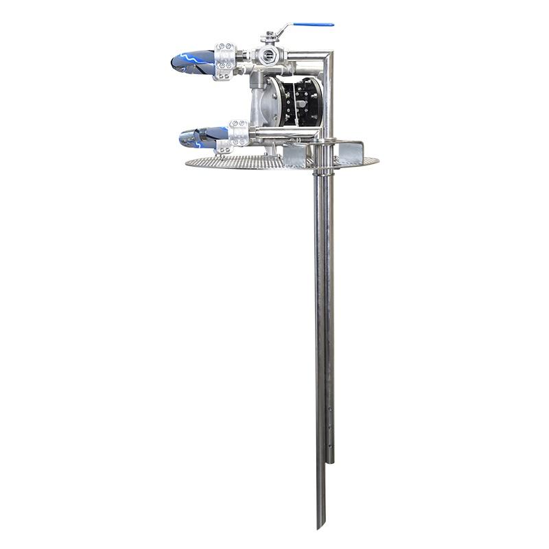 пневматический мембранный насос DMP для перемешивания