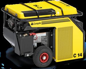 Бензиновый передвижной компрессор CompAir С14S