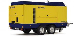 Дизельный передвижной компрессор CompAir C230TS-9