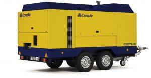 Дизельный передвижной компрессор CompAir C240TS-14