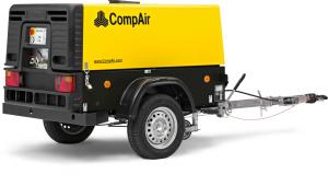 Дизельный передвижной компрессор CompAir C50