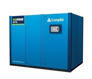 Безмасляные компрессоры CompAir серии D75-08A