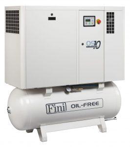 Спиральный безмасляный компрессор FINI OS 1008-270F ES TA