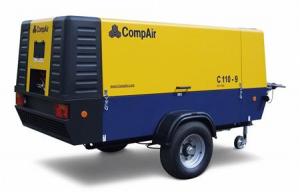 Дизельный передвижной компрессор CompAir C110-9